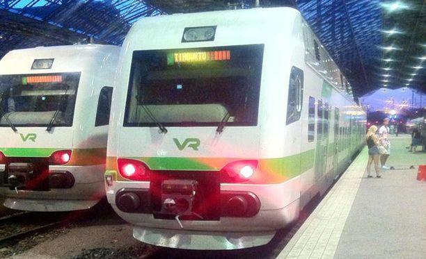 VR:n juna oli matkalla Timbuktuun. Kuvan saa suuremmaksi klikkaamalla.