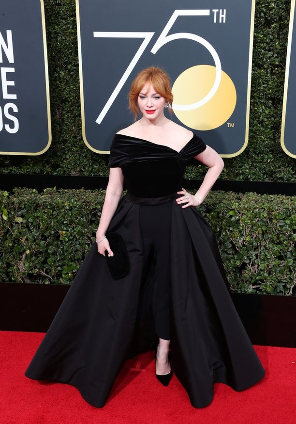 Mad Men -tähti Christina Hendricks.