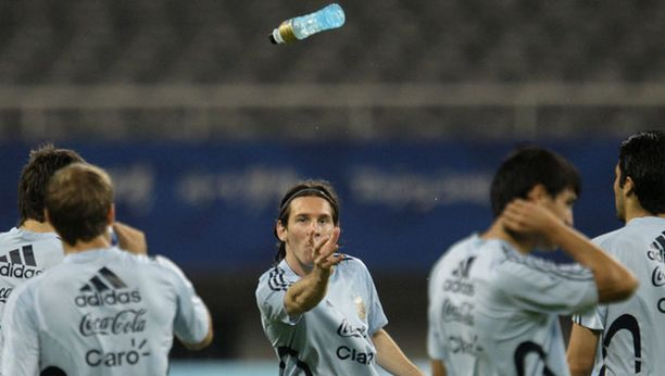 Kiinaan matkustaminen sai Lionel Messin vakuuttuneeksi siitä, että hän haluaa pelata olympialaisissa.
