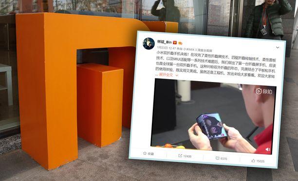 Xiaomi on paljastanut konseptipuhelimensa.