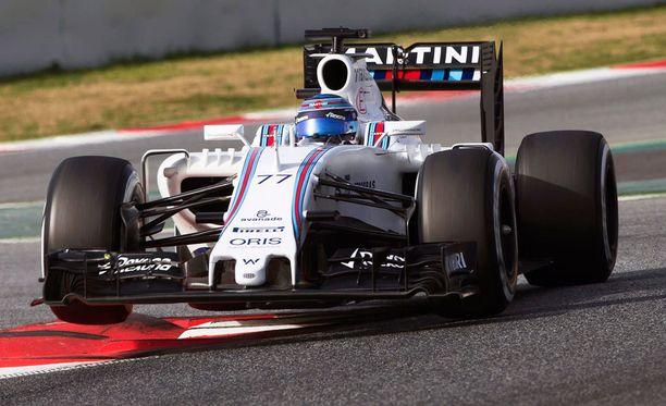 F1-autot muuttuvat merkittävästi vuodeksi 2017. Kuvassa Williamsin Valtteri Bottas.