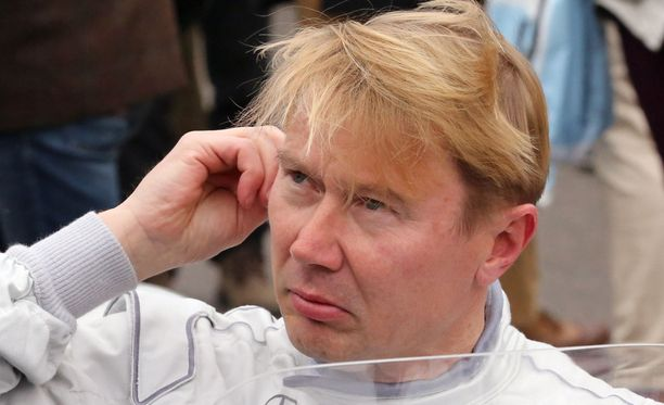 Viittäkymppiä lähestyvän Mika Häkkisen vauhti hämmästytti nuorempia formulatähtiä.