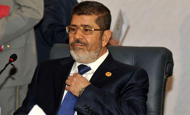 Egyptin entinen presidentti Mohamed Mursi.
