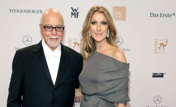 René Angelil ja Céline Dion olivat naimisissa 22 vuotta.