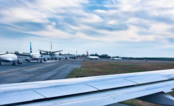 Baltia Air Lines on suunnitellut liikenteen aloittamista New Yorkista.