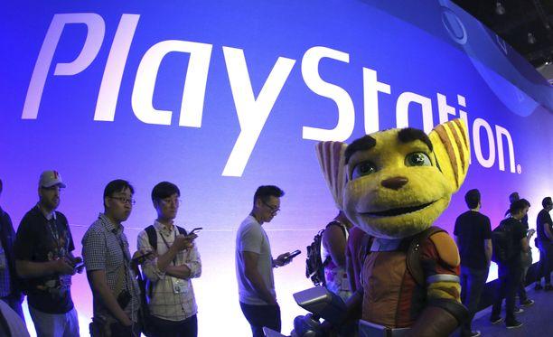 Playstationia ei ensi vuoden E3-messuilla nähdä.