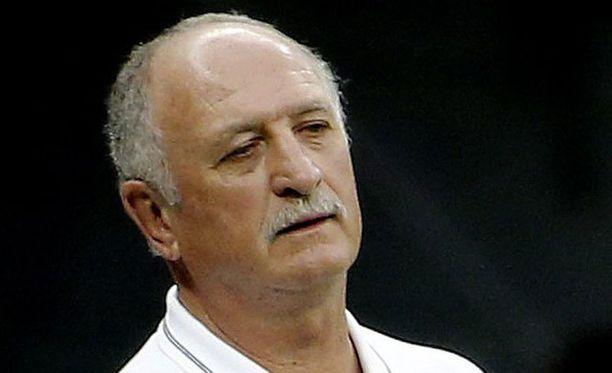 Luiz Felipe Scolari sai lähteä Brasilian päävalmentajan paikalta.