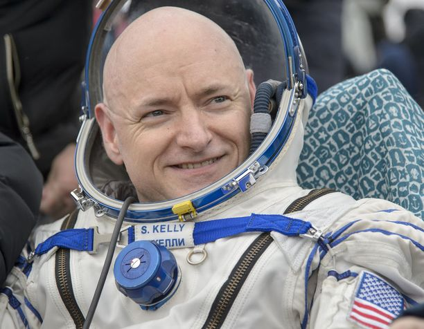 Scott Kelly on neljän avaruuslennon veteraani.