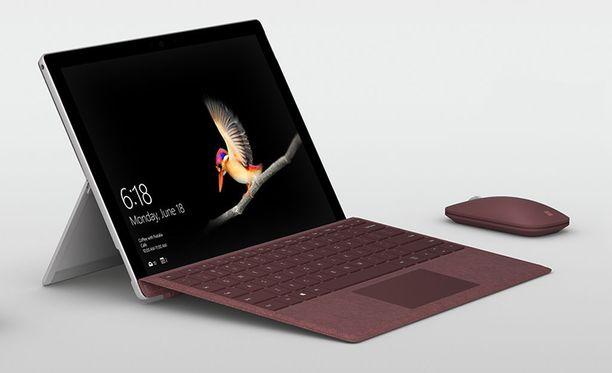 Surface Go painaa vain 522 grammaa.