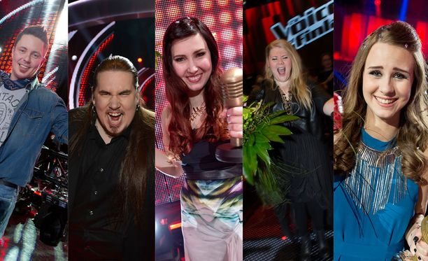 The Voice of Finlandissa on kisattu vuodesta 2012 lähtien.