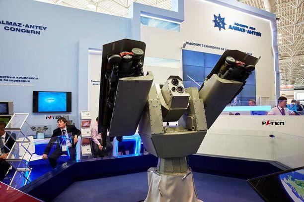 EU:n ja Yhdysvaltojen boikotissa oleva venäläinen aseyhtiö Almas Antey on saattanut saada vaikutteita Terminator –elokuvista.
