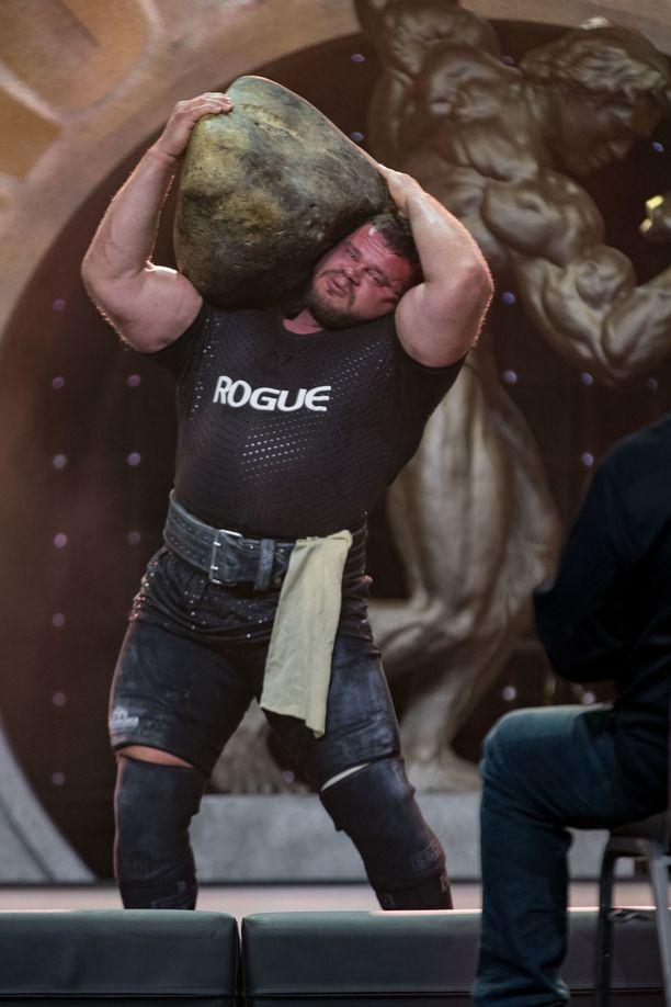 Martins Licis on nyt maailman vahvin mies.