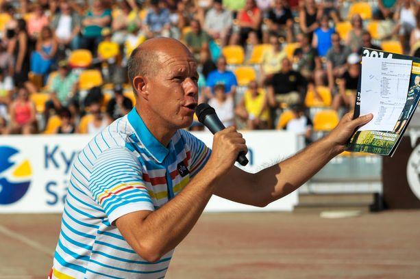Kaj Kunnas eläytyy kesällä Tokion olympialaisissa Discoveryn palveluksessa.