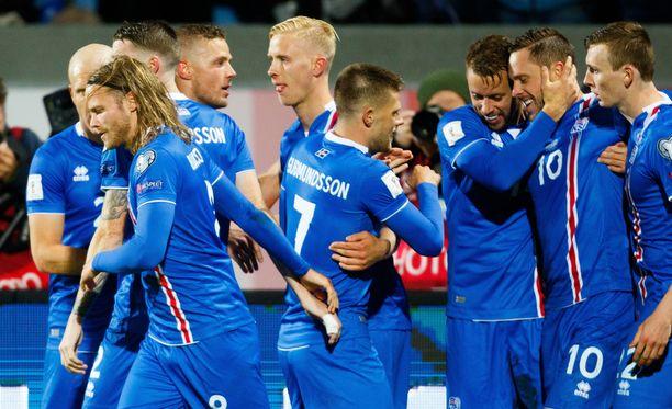 Islanti varmisti historiallisen MM-kisapaikan!