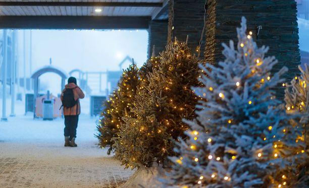 Joulusta povataan valkeaa suuressa osassa maata.