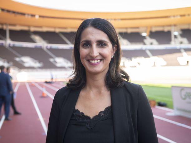 Nasima Razmyar piti Olympiastadionin peruskorjausta tärkeänä hankkeena.