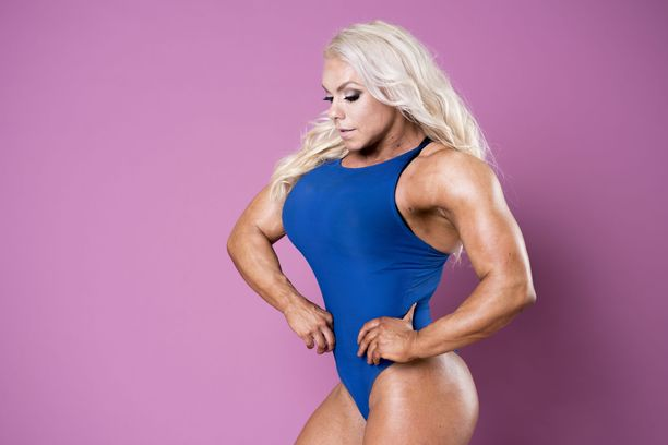 """Gladiaattoreistakin tuttu Minna """"Barbi"""" Pajulahti pääsi mukaan Ms. Olympia -kisaan."""