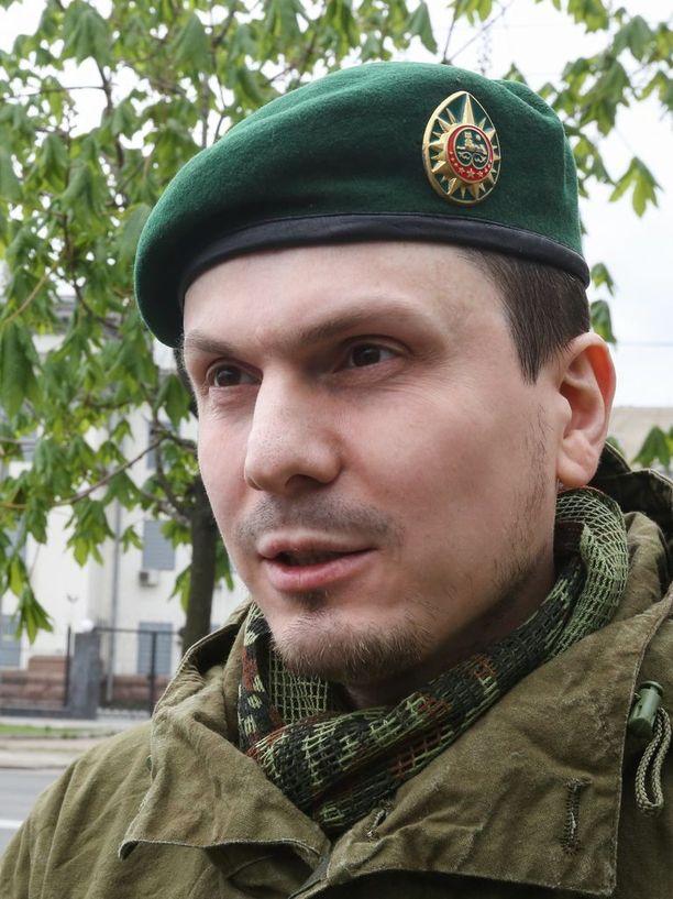 Adam Osmajev kuvattuna Kiovassa huhtikuussa 2016.