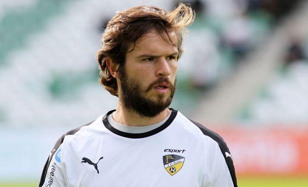 Hongan Lucas Kaufmann teki kaksi maalia ja syötti yhden.