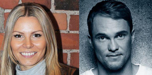 Mari ja Jontte Valosaari vihittiin kesäkuussa.