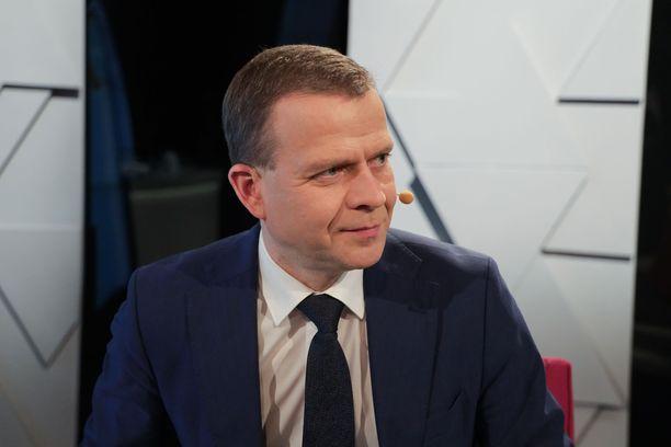 Petteri Orpo (kok) Ylen vaalikeskustelussa 14.3.2019.