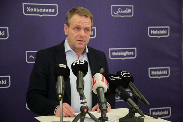 Helsingin pormestari Jan Vapaavuori kertoi maanantaina, mitä hallituksen suositukset tarkoittavat helsinkiläisille.