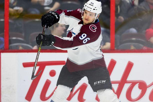 Mikko Rantasen pistetahti oli hurja NHL-kauden alkupuoliskolla.