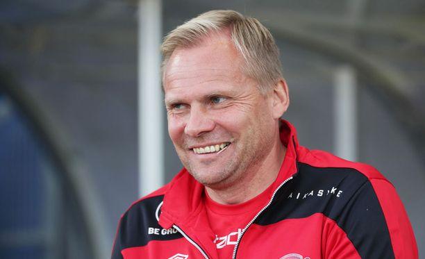 Toni Korkeakunnas oli tyytyväinen FC Lahden esitykseen.