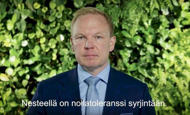Panu Kopra ottaa kantaa syrjintäkohuun Nesteen julkaisemalla videolla.