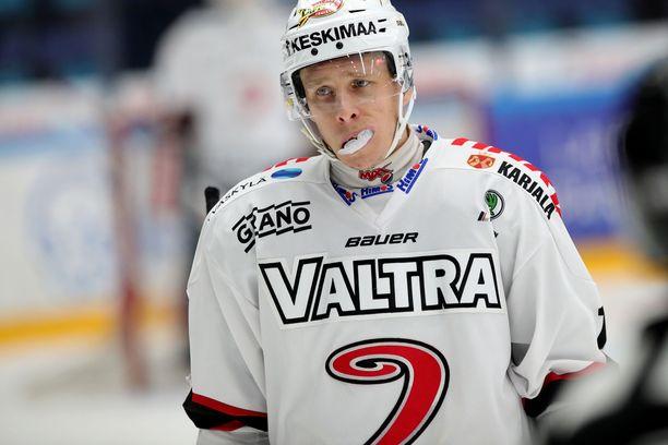Juha-Pekka Hytönen siirtyy ulkomaille.