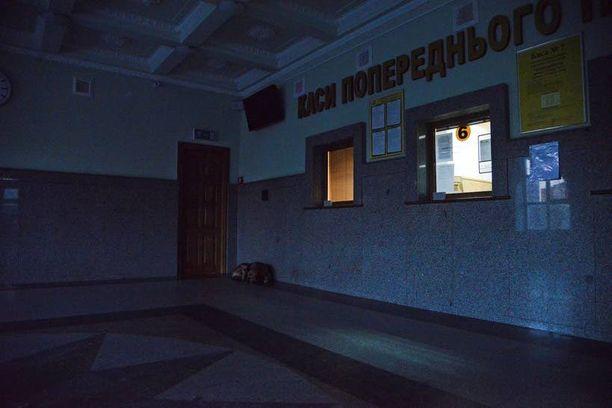 Kahdelta luukulta voi ostaa lippuja muualta kuin Donetskista lähteviin juniin.