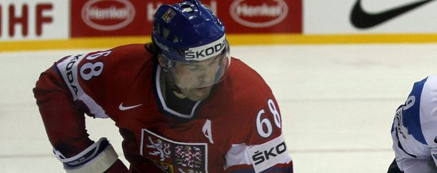Jaromir Jagr, 39, osui kolmatta ja neljättä kertaa näissä kisoissa.