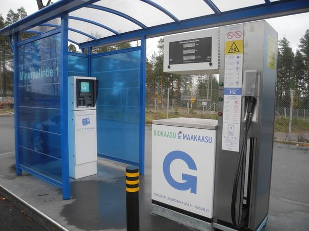 Tämä Gasumin asema sijaitsee Lohjan Mineraalitiellä ollen tiettävästi Suomen toistaiseksi lounaisin yleisölle avoin kaasuasema.