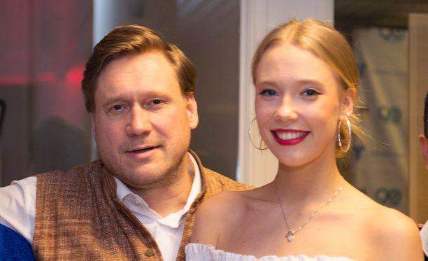Samuli Edelmannin Venla-tytär tekee uraa mallina.