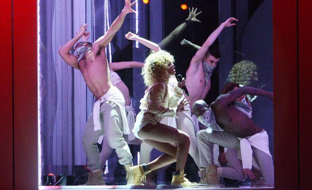 Rihanna näytti, miten se tehdään.