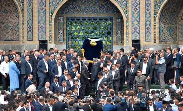 Islam Karimov haudattiin lauantaina.