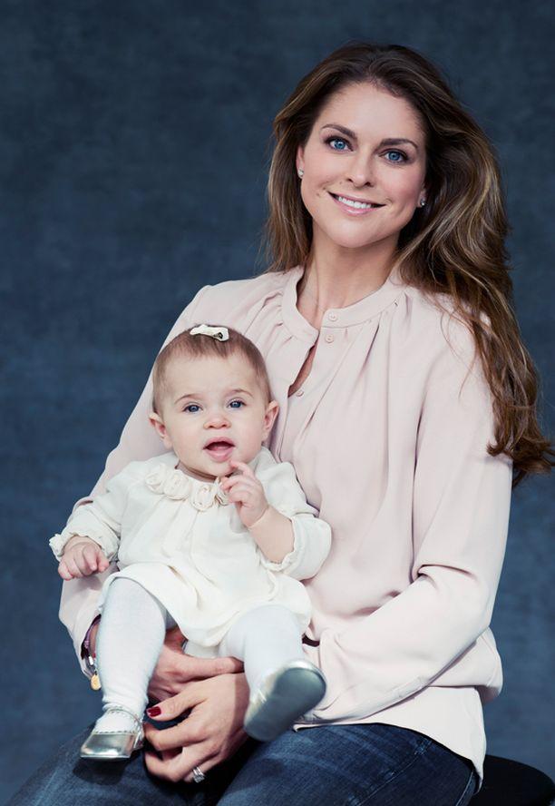 Madeleinen ja Chris O'Neillin esikoinen Leonore täyttää helmikuussa vuoden.