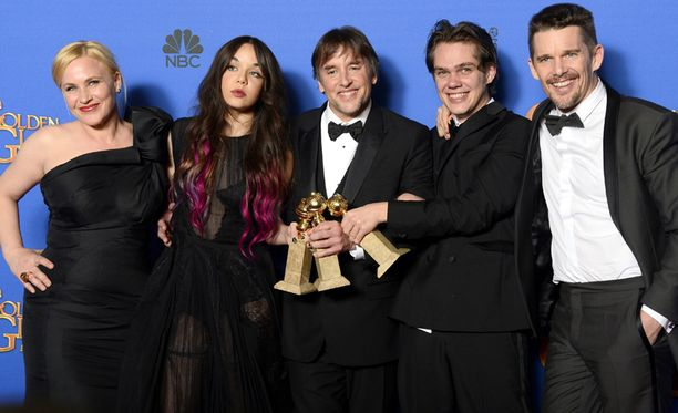 Boyhood-elokuva sai eniten Golden Globe -palkintoja.
