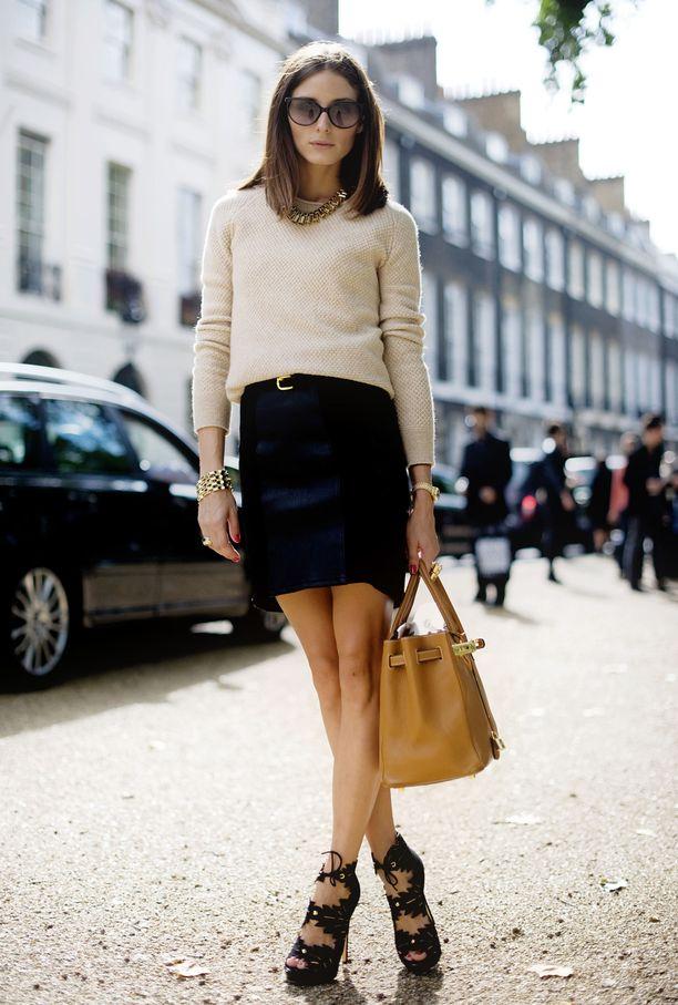 Olivia Palermo näyttää tyylikkäältä edelleen - tässä tyylinäyte vuodelta 2010.