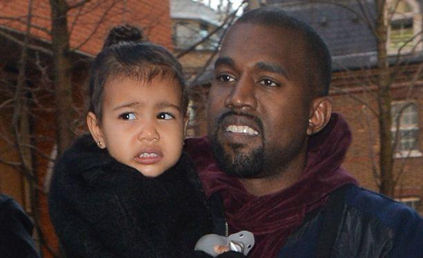 North ja Kanye West muistuttavat Kim Kardashianin mielestä toisiaan.