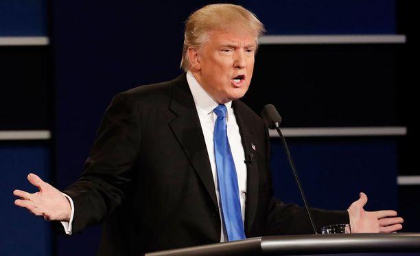 Miljardööri Donald Trump on republikaanien ehdokas Yhdysvaltain presidentiksi.