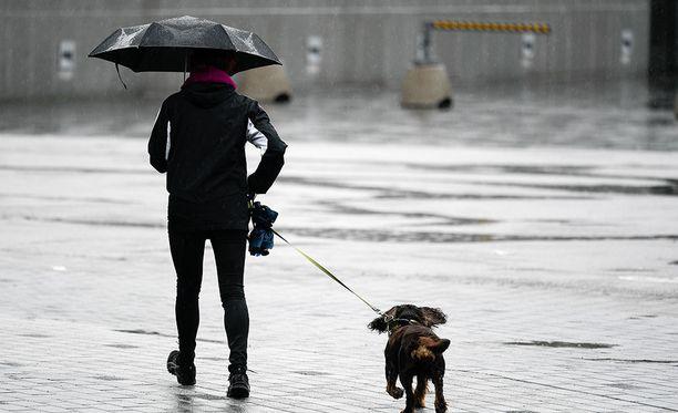 Viikko alkaa sateisena, joten kannattaa varustautua sateenvarjoin ynnä muun suojin ulos lähtiessä.