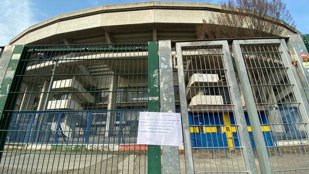 Veronan stadion suljettiin ja Serie A -ottelu peruttiin koronaviruksen takia.