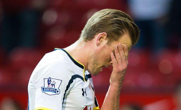 Harry Kanen Tottenham ei näytä pysyvän kärkinelikon tahdissa.