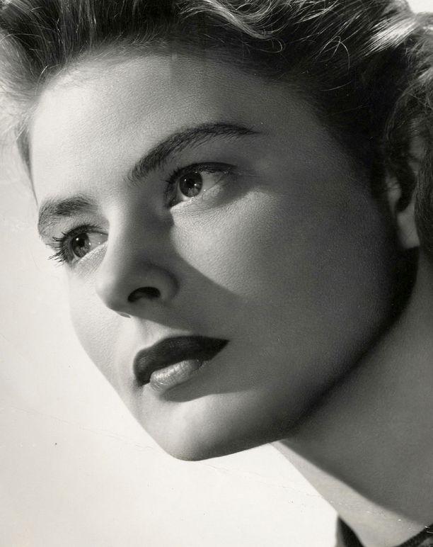 USA:ssa Ingrid Bergmanista muovattiin saippuantuoksuinen pyhimys.
