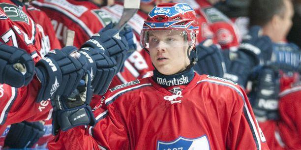 Mikael Granlund on jälleen iskussa.