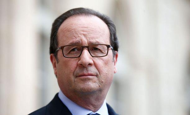 Ranskan presidentti Francois Hollande.