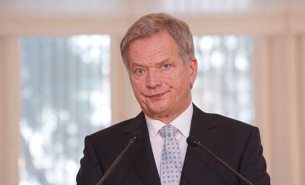 Presidentti Sauli Niinistö kuvailee lausunnossaan Berliinin tapahtumia järkyttäviksi.