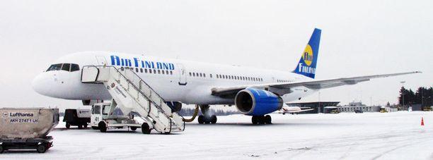 Lentoyhtiö Air Finland ajautui konkurssiin kesällä 2012.