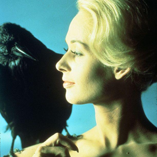 Tippi Hedren muistetaan pääosastaan Alfred Hitchcockin kauhuelokuvassa Linnut. Kredu: Zumawire